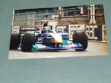 "SAUBER F1 2000 Pedro Diniz pit lane Silverstone 6x4"" photo"